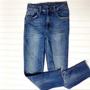 ZARA Basic z1975 high waist skinny jeans sz 4
